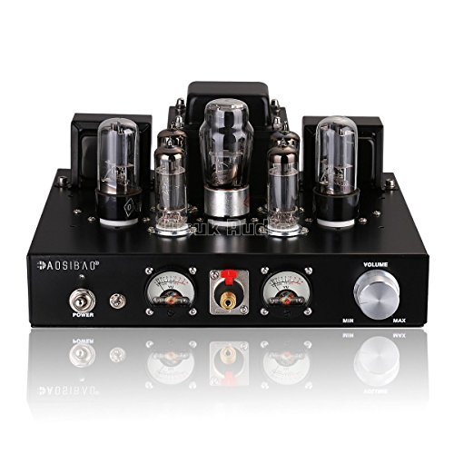 Nobsound 6P1 6.8W * 2 Vacuum Tube Power Amplifier; Stereo Class A Single-Ended Audio Amp Handcrafted HiFi-Verstärker (with Headphone Amp Function)