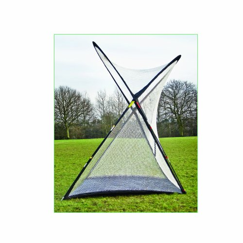 Longridge Super Sized Golf Practice Net - White/Black