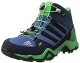 Adidas Unisex-Kinder Terrex Mid Gtx Wanderstiefel, Blau (Azubas/Negbas/Verene), 39 1/3EU