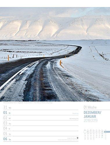 Island - Wochenplaner 2019, Wandkalender im Hochformat (25x33 cm) - Wochenkalender mit Rätseln und Sudoku auf der Rückseite: Alle Infos bei Amazon