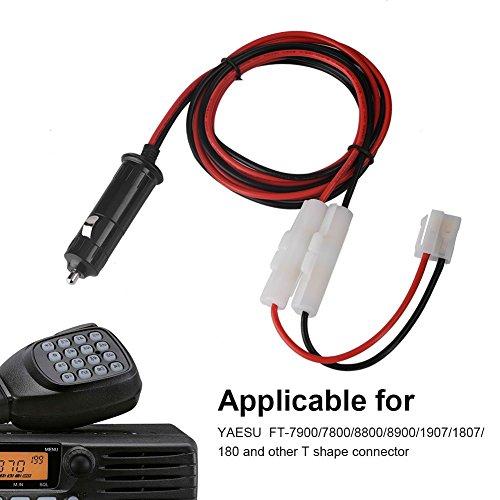 4V 20A Stecker Zigarettenanzünder Adapter Netzteil Kordel mit Kabel Draht für Auto Inverter Luftpumpe Elektro Tasse und DIY ()