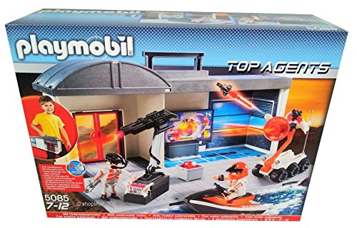 Playmobil-5085-Top-Agents-Quartier-Gnral-Transportable