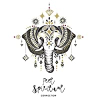 RUST Weihpe Mandala Elephant Wall Decals Bedroom Indian Yoga Vinyl Decal Sticker Boho Decor