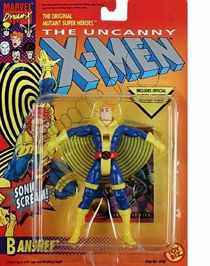 Banshee w/ Trading Card the Uncanny X-men by Marvel