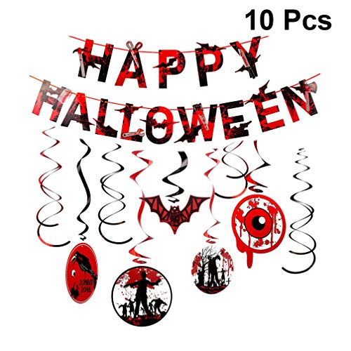 - Gruseliges Happy Halloween Banner