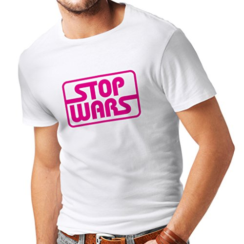 T Shirts For Men Political - Stop Wars - Peace Quotes, Anti War