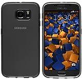 mumbi Schutzhülle Samsung Galaxy S6 / S6 Duos Hülle transparent schwarz (Slim – 1.2 mm) - 2