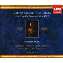 Martha Argerich & Friends: Live from Lugano 2003