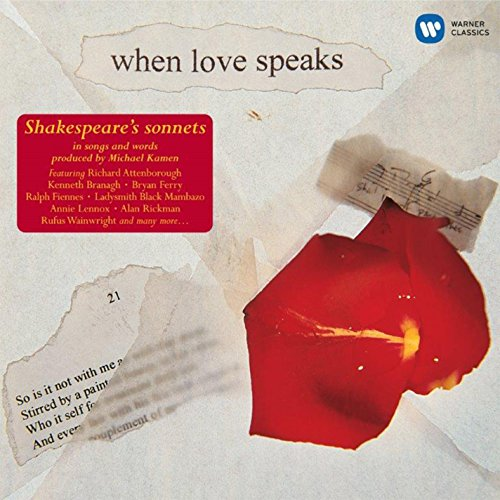 When Love Speaks (Shakespeare-Sonette)
