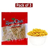 #10: The Spice Club Pappad Fryums Potato Wheel 250g - Pack of 3 (Crunchy and Tasty, Ready to Fry)
