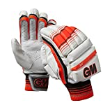 GM Cricket Boy 303 Batting Gloves, Red