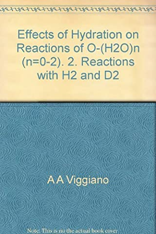 Effects of Hydration on Reactions of O-(H2O)n (n=0-2). 2. Reactions with H2 and D2