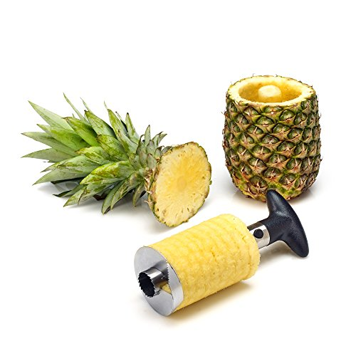 Statko® et tranche d'ananas, éplucheur en acier inoxydable Vide-pomme - Plus de 500 Positive Avis sur Amazon. COM - USA site (Voir Note ci-dessous) (9,5 cm)