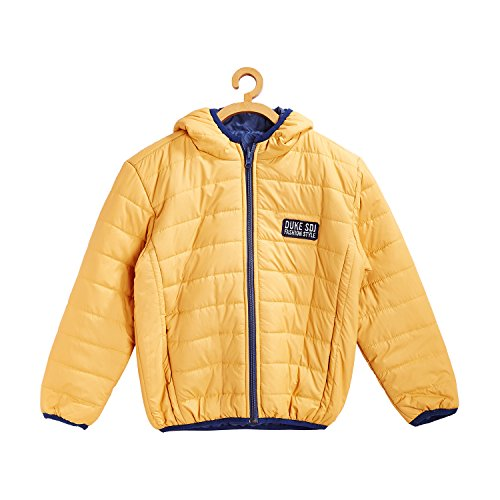 Duke Kids Solid Jacket Yellow Coloured 12-13 Years  available at amazon for Rs.998
