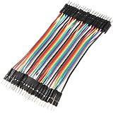 40pcs 10cm Câbles pour BreadBoard male / male - Arduino masculin jumper Fil Wire