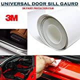 Alive Traders 2Pcs x 3M Universal Door Sill Paint Protection Film 70cm x