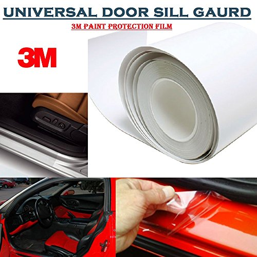 alive traders 4pcs x 3m paint protection film universal door sill 70cm x 6.35cm each Alive Traders 4Pcs x 3M Paint Protection Film Universal Door Sill 70cm x 6.35cm each 51xr8ee5pEL