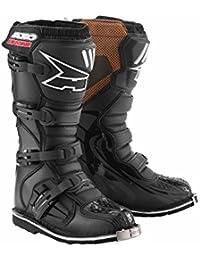 AXO Botas de Moto Motocross A2 Negro EU 45