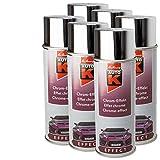 Kwasny 6 x 233 031 Auto-K Effect Chrom-Effekt Lackspray 400ml