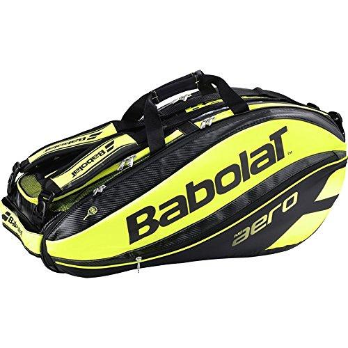 Babolat Turniertasche Pure Aero Racket Holder X9, Schwarz, 75 x 37 x 33 cm, 54 Liter, 751115-142