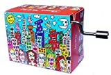 James Rizzi Spieluhr Mini Drehorgel Melodie My Way