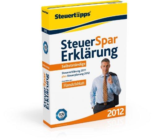 Steuer-Spar-Erklärung 2012 für Selbstständige (für Steuerjahr 2011)