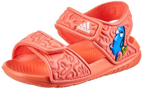 adidas Unisex-Kinder Disney Nemo AltaSwim Gladiator Sandalen, Orange ftwbla/corsen, 22 EU (Gladiator Kleinkinder Für Sandalen)