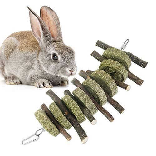 Golrisen Heno para Conejos,Palos de Masticar de árbol de...