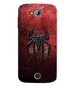 Citydreamz Spiderman Logo Hard Polycarbonate Designer Back Case Cover For Acer Liquid Z530