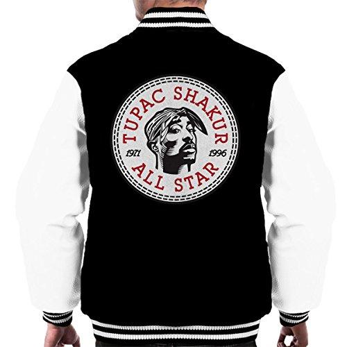 Tupac Shakur Converse All Star Icon Men's Varsity Jacket