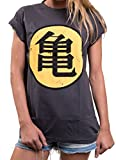 Comic Shirt Damen - Son Goku - locker und lässig große Größe Dragon S