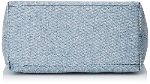 Timberland TB0M2768, Borsa a Spalla Donna, 17x30x31 cm (W x H x L) Blu (VINTAGE INDIGO)