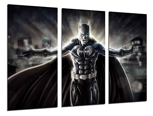 Poster Moderno Fotografico Superheroes Batman, Joker, 97 x 62 cm, ref. PST26390