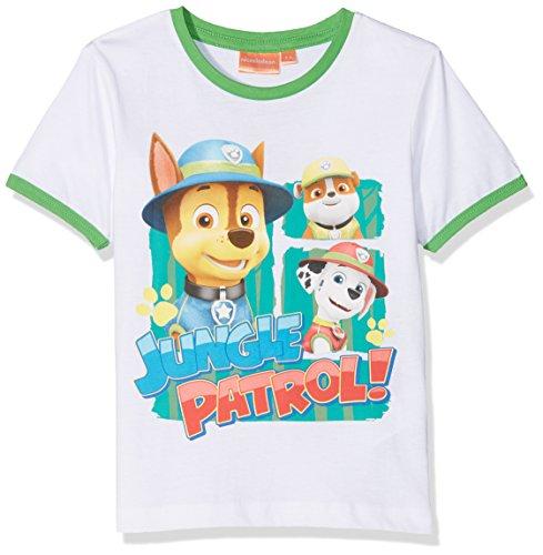 Nickelodeon Boy's Paw Patrol Jungle T-Shirt