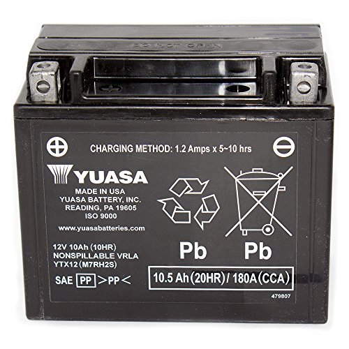 12V 10Ah batteria per Suzuki VZ800Marauder 1997-2008
