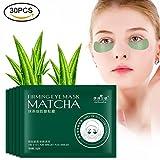 30 pares de máscaras de Té Verde Hidratante Antienvejecimiento y Antiarrugas y Eliminar en Bolsas...