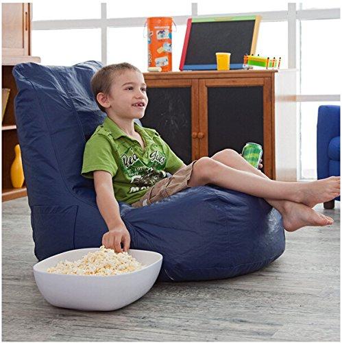 Kindersitzsäcke minimalistischem hohe elastische weiche und bequeme Plüsch Wohnzimmer Möbel , blue