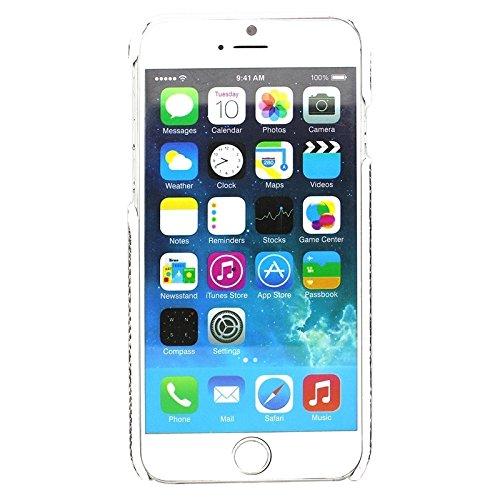 Snakeskin Pattern Paste Skin Hard Case Rückseite für iPhone 6 Plus & 6S Plus by diebelleu ( Color : White ) White