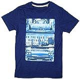 Jungen Miami Highway Coast USA Baumwolle T-Shirt Top Blau größen