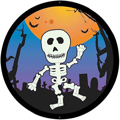 Selbstklebend Wandtattoo Fete Deco Halloween MacBook Auto Skelett witziges Kinder