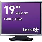 """Wortmann AG 1940 19"""" Noir, Argent - écrans plats de PC (1280 x 1024 pixels, LED, TN+Film, 1280 x 1024 (SXGA), 30000000:1, 16,78 millions de couleurs)"""