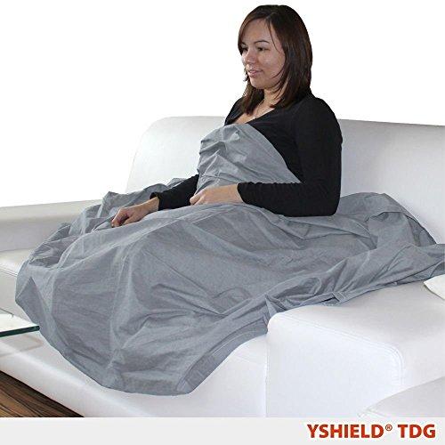 YSHIELD® Abschirmende Decke aus Steel-Gray TDG | HF+NF