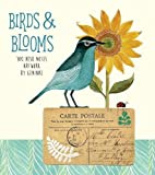 BIRDS AND BLOOMS DESK NOTES ARTWORK BY GENINNE
