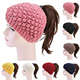 TITAP Fashion Women Knitted Turban Hat India Plate Head Cap Autumn Winter Keep Warm Cute Beanies Lady Girl Crochet Hats