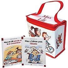Pack 2 volumes Max et Lili : Max n'aime pas l'école ; Max et Lili ont du mal à se concentrer : Avec 1 lunchbox
