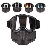 Taktische Maske, OVITOP Schutzmaske im Retro-stil Kinder Masken für Nerf, Nerf Rival, CS usw.