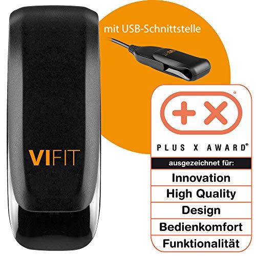 Medisana Unisex-Erwachsene Aktivitäts und Schlaf Tracker ViFit 5.8 x 2.8 cm