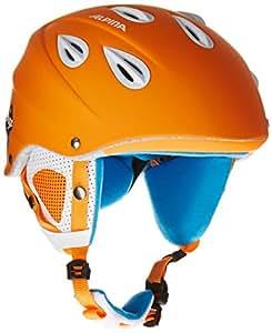 Alpina Unisex Skihelm Grap, orange matt, 54-57, 9036241