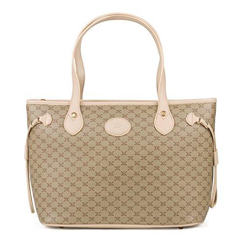 CC Handbag With Side String Beige (beige)