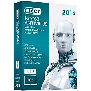 ESET NOD32 AntiVirus 2015 - 1 PC (Minibox)